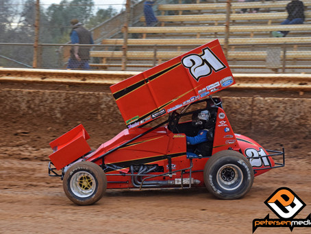 Shane Hopkins 11th at Placerville Speedway
