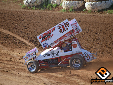 Justyn Cox Second at Silver Dollar Speedway