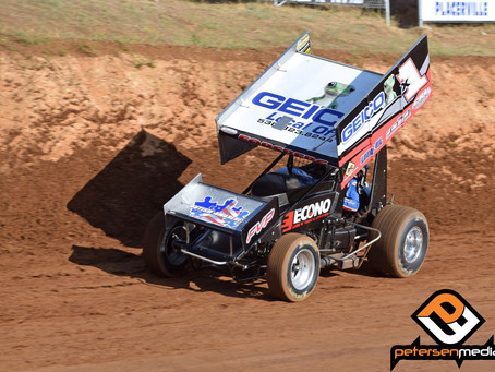Andy Forsberg 5th at Placerville Speedway As He Closes in on Track Title