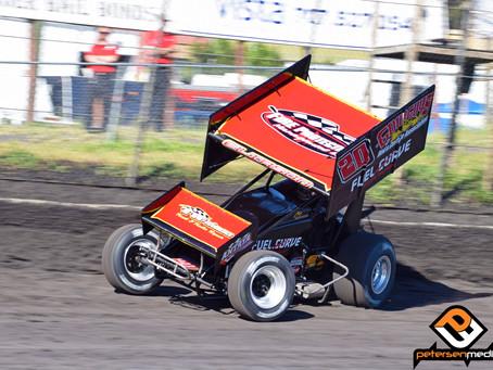 Eliason Fourth at Petaluma Speedway