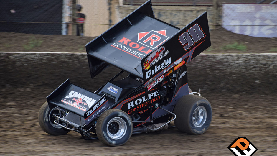 Watts 15th with King of the West Series at Ocean Speedway