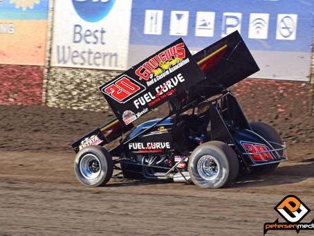 Hard Fought Night Ends With Sixth Place Finish for Cory Eliason and Antaya Motorsports
