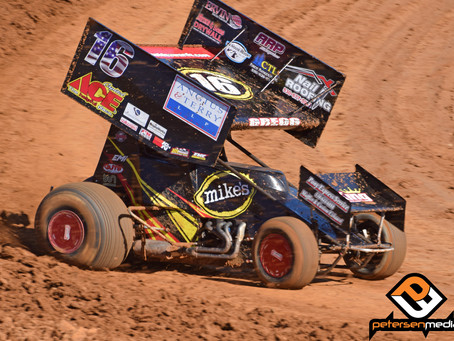 Andy Gregg Back On Podium At Placerville Speedway