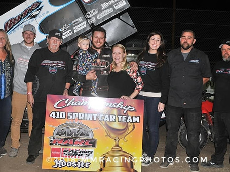 Kyle Hirst Closes 2018 Out With King of the West Series and Sprint Car Challenge Tour Championships