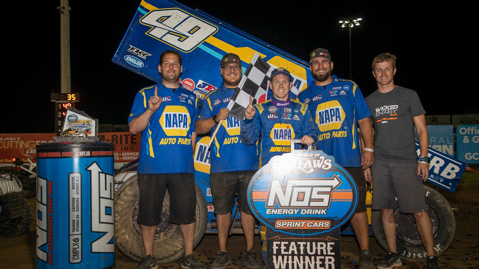 Brad Sweet Stays Hot and Wins Jackson Nationals