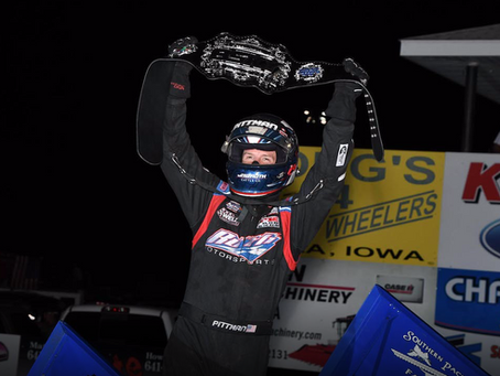 Pittman Takes Top Prize at Front Row Challenge