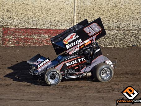 Watts Earns Silver Dollar Speedway Top-10
