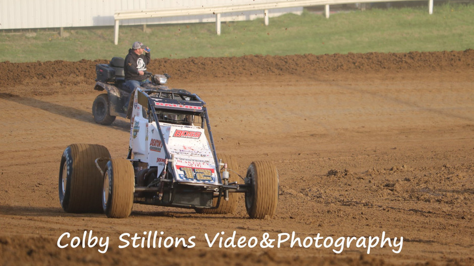 Robert Ballou Charges to Seventh at Tri-State Speedway