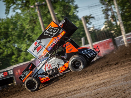 Ian Madsen and KCP Racing Pick Up a Pair of Top-10's in North Dakota