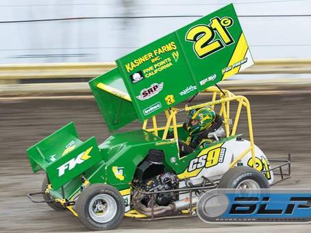 Garth Kasiner Charges at Lemoore Raceway