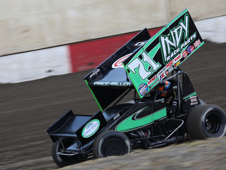 Parker Price-Miller Looking Forward to Turning First Laps at Silver Dollar Speedway