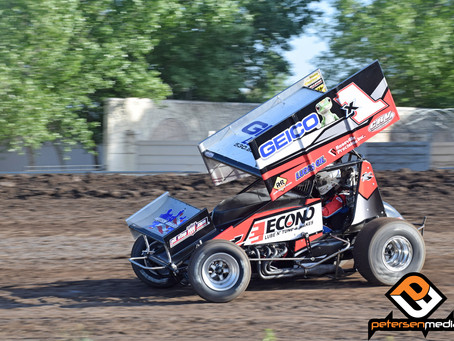 Andy Forsberg Looks To Get Back on Track at Placerville Speedway After Tough Trip to Stockton Dirt T