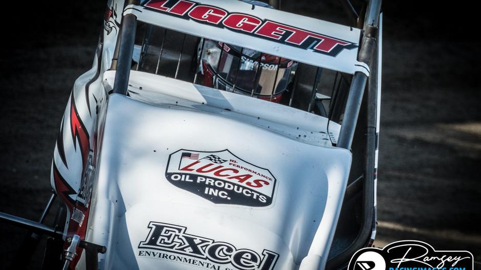 Austin Liggett Third at Bakersfield Speedway