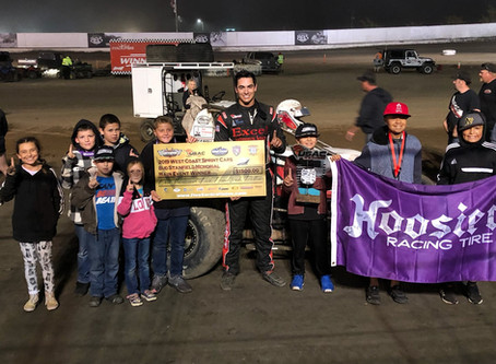 Austin Liggett Back in Victory Lane with USAC West Coast 360's