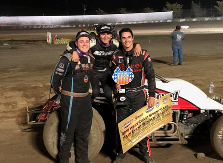 Austin Liggett Gets The Broom Out in Santa Maria, CA