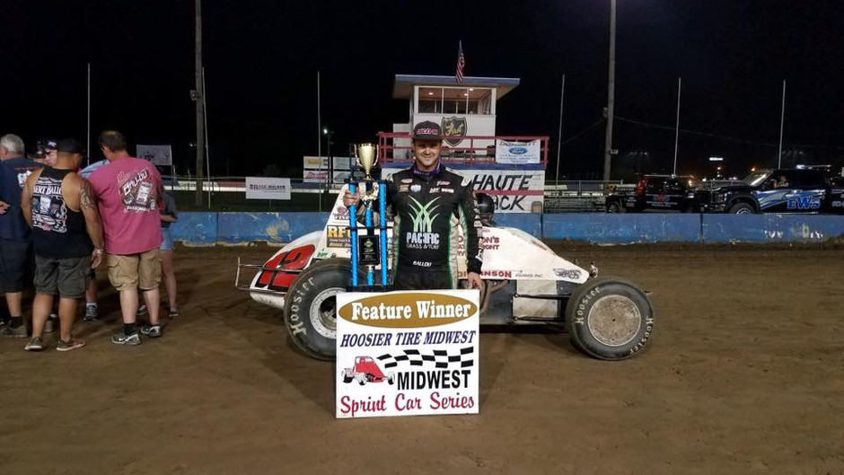 Robert Ballou Surges From Seventh To Score Third Win of Season in Convincing Fashion
