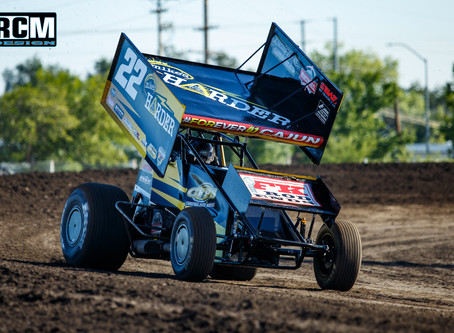 Mason Moore Assumes Silver Dollar Speedway Point Lead With Second Place Finish on 4th of July