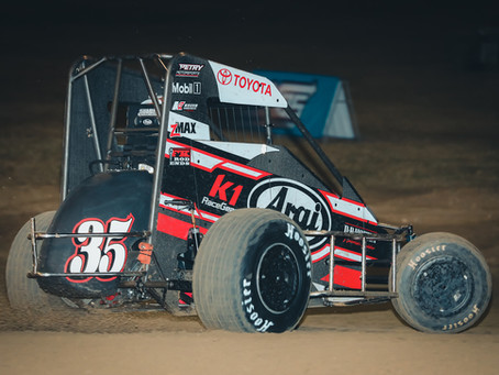 Carrick Garners Top-10 During Opening Weekend of USAC NOS Energy Drink Midget Action
