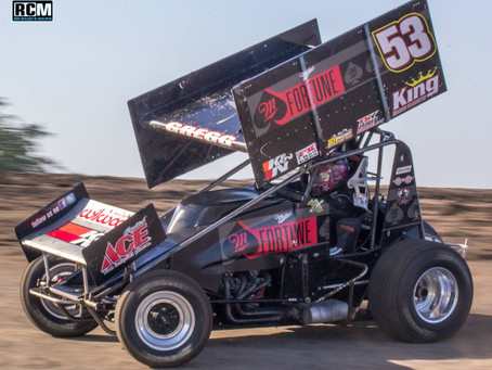 Gregg Rallies To Sixth at SDS