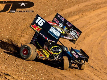 Andy Gregg Fights To 12th at Placerville Speedway