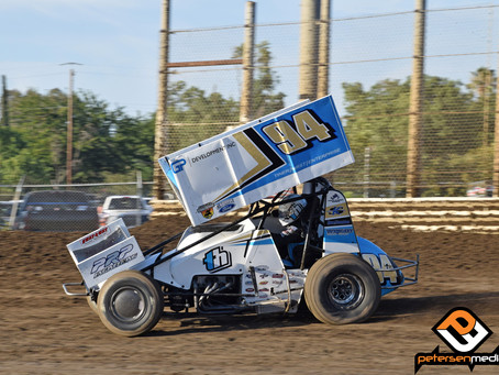 Hirst Third at Merced Speedway as He Takes SCCT Point Lead