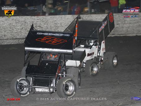 Lucas Ashe 14th in Petaluma with Sprint Car Challenge Tour