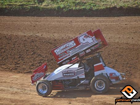 Engine Woes Hinder Justin Sanders and Dale Miller Motorsports at Placerville Speedway