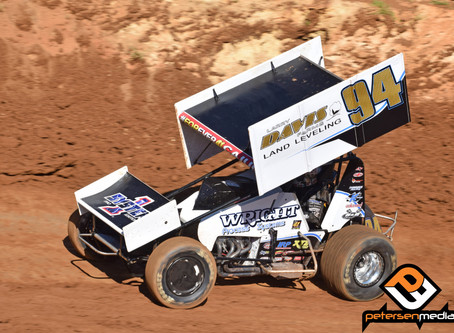 Steven Tiner Puts on Pair of Hard Charges with Sprint Car Challenge Tour