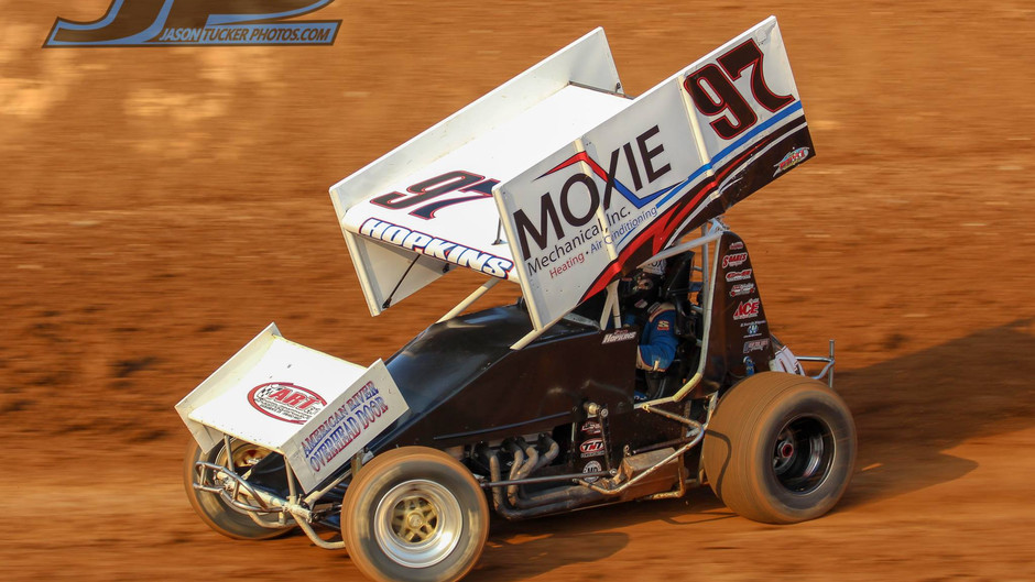 Hopkins Charges to Eighth at Placerville Speedway
