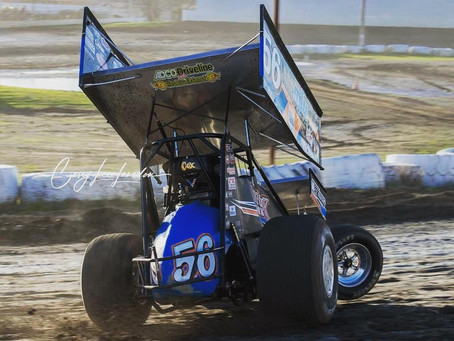 Justyn Cox Charges to Third in Tulare, CA with Kings of Thunder Series