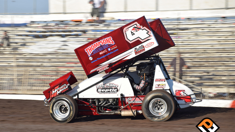 Justin Sanders Scores Pair of Top 5's at Gold Cup with Dale Miller Motorsports
