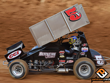 Nunes 12th at Silver Dollar Speedway Before Qualifying Mishap Ends Night In Placerville, CA