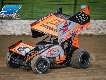 Up and Down Weekend for Ian Madsen