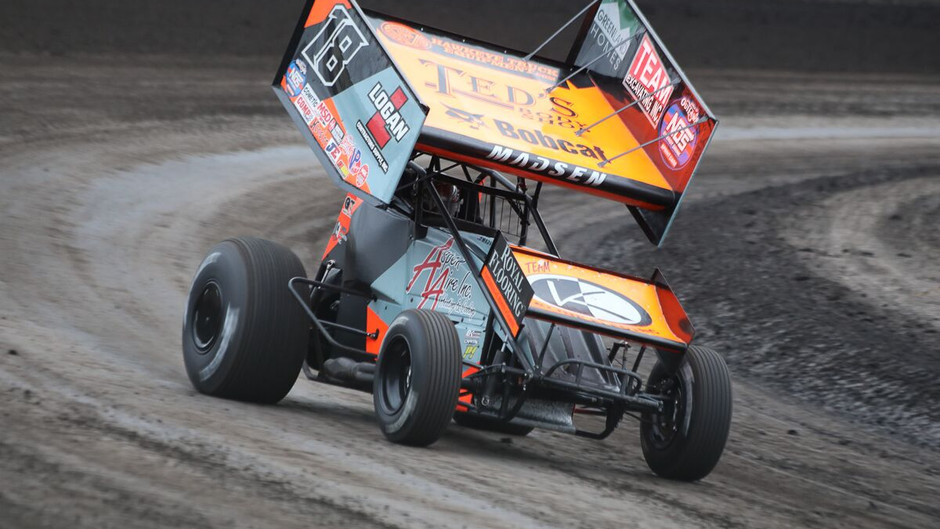 Ian Madsen and KCP Racing Earn Hard Charger Honors at Knoxville Raceway