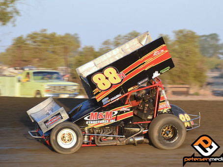 Becker 4th at Cotton Classic with Monhoff Racing