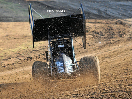 Tommy Tarlton Back Up Front at Ocean Speedway