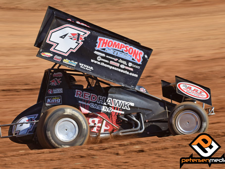 DeCaires Fights For Third at Placerville Speedway