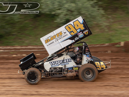 Steven Tiner Puts On Hard Charge at Placerville Speedway