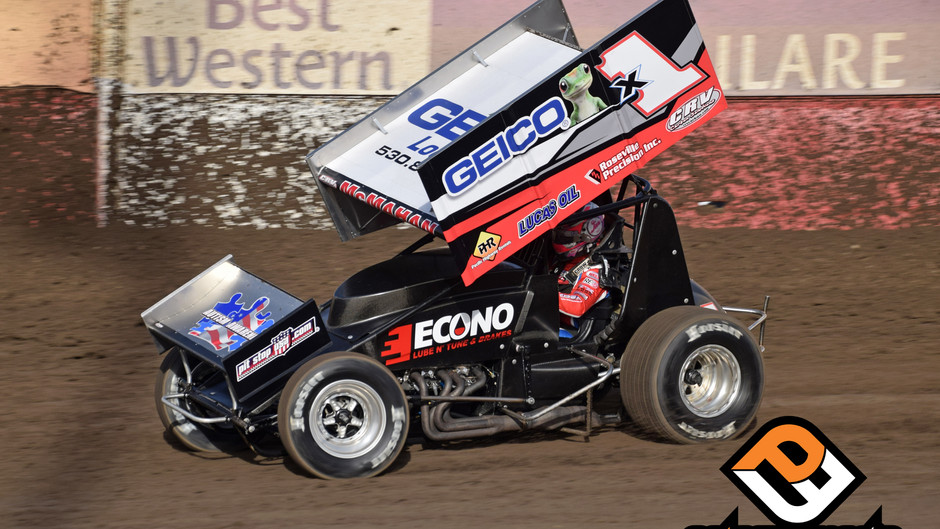 Paul McMahan 22nd in Trophy Cup Points with F&F Racing