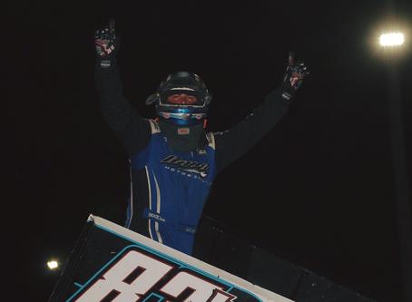 Dominic Scelzi Scores Second KWS Feature Event Win of the Season