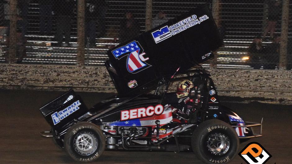Cox Fifth at Petaluma Speedway with ASCS National Tour