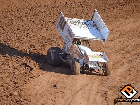 Andy Gregg 14th at Placerville Speedway Leading Into This Weekend's Nor*Cal Posse Shootout