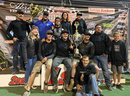 Rico Abreu Sweeps Trophy Cup with KSE Racing Products