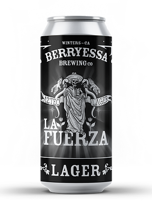 La Fuerza Aztec Lager - 24 Pack (California Only)