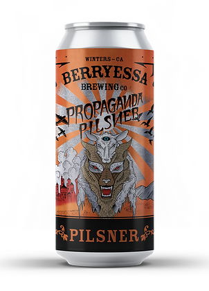 Propaganda Pilsner - 24 Pack (California Only)