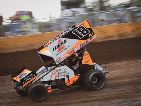 Ian Madsen and KCP Racing Continue Consistency With World of Outlaws Craftsman Sprint Car Series