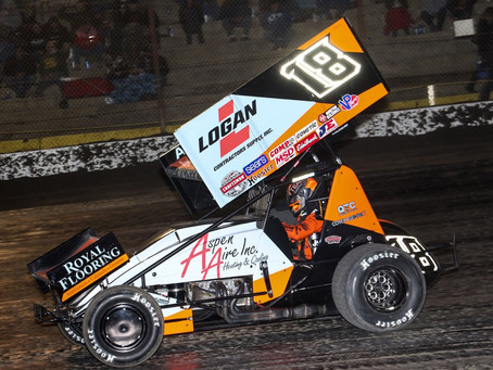 Ian Madsen Puts On Show To Close California Swing in Bakersfield, CA