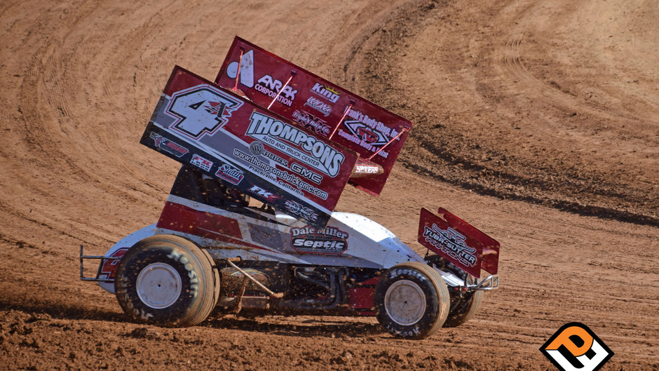 Sanders Charges Through Field to Finish 4th at Placerville Speedway