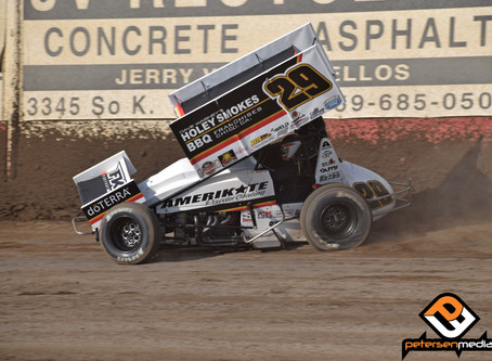 Croft Racks Up Trio of Top-10's in Tulare, CA