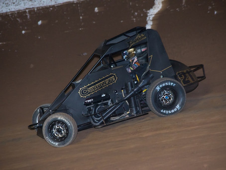 Macedo 15th at November Classic Aboard Tarlton Motorsports Midget